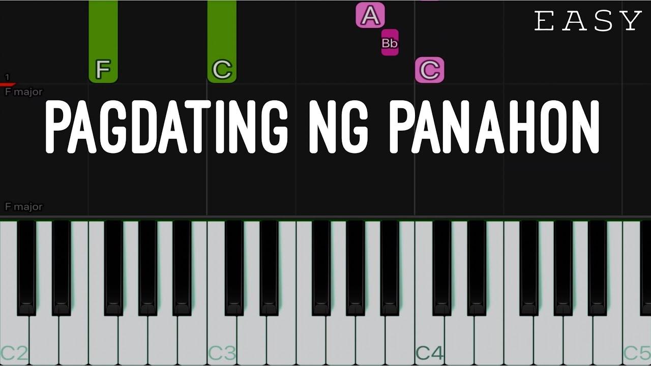 Pagdating ng panahon piano chords is taylor lautner dating anyone right now