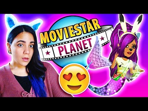 BECOMING A MERMAID ON MOVIESTARPLANET ✨ MovieStarPlanet Mailtime - Gift Opening! MSP ♥