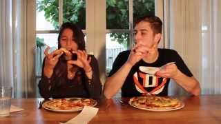 DIT IS ECHT VIES!! - PIZZA CHALLENGE MET EVA