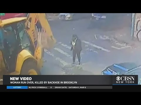 Video: Woman Struck And Killed By Backhoe