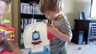 TODDLER POTTY TRAINING TIME!🚽👦�