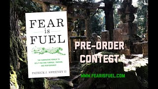 The Fear is Fuel Pre-Order Contest Info