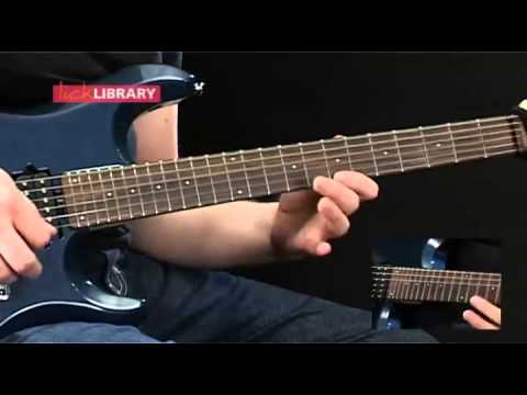 Learn to play Pantera: Cemetery gates Solo sections and lead fills