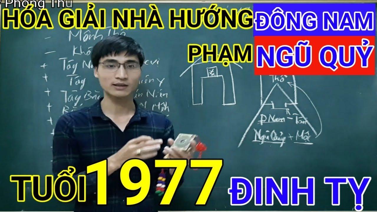 Tuổi Đinh Tỵ 1977 Nhà Hướng Đông Nam | Hóa Giải Hướng Nhà Phạm Ngũ Quỷ Cho Tuoi Dinh Ty 1977