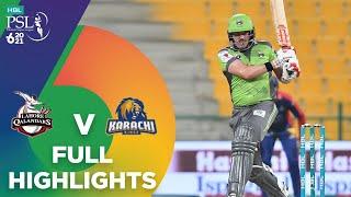 Full Highlights   Lahore Qalandars vs Karachi Kings   Match 27   HBL PSL 6   MG2T