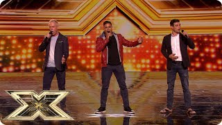 A touch of class with Tre Amici | Auditions Week 2 | The X Factor UK 2018