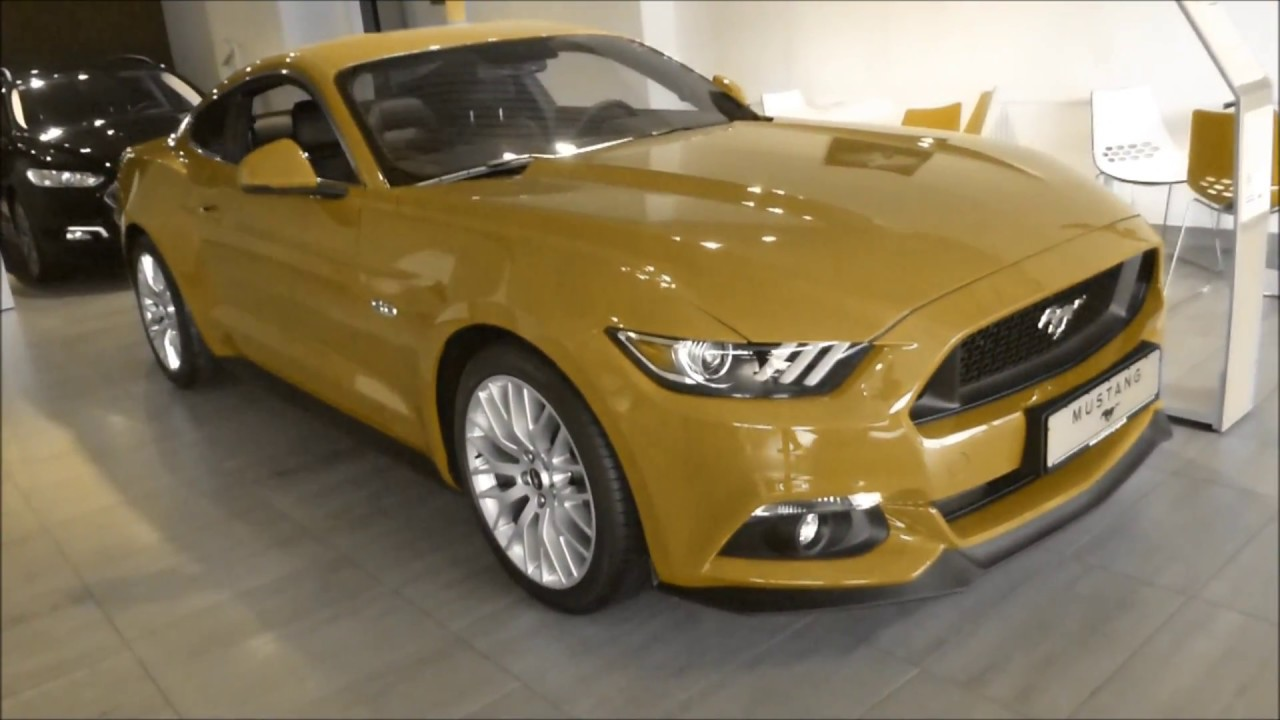 2017 Mustang Convertible Interior Colors