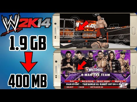 (400 MB) WWE 2K14 Highly Compressed PSP Iso Download For Android | Hindi | New Link