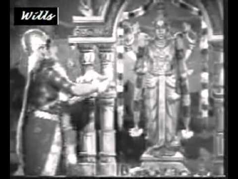 VAARANAM AAYIRAM SSKWILLSFILM PL @ SENTHAAMARAI   Tamil, 1962   Padmini Dance