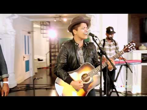 Bruno Mars  Grenade Studio Session  Abridged