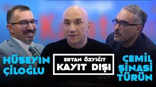Ertan Özyiğit ile Kayıt Dışı - Cemil Türün - Hüseyin Çiloğlu - 5 Şubat 2021