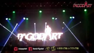 Pagodart - Encerrando show em Mucuri - BA