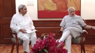 Odisha CM Naveen Patnaik calls on PM