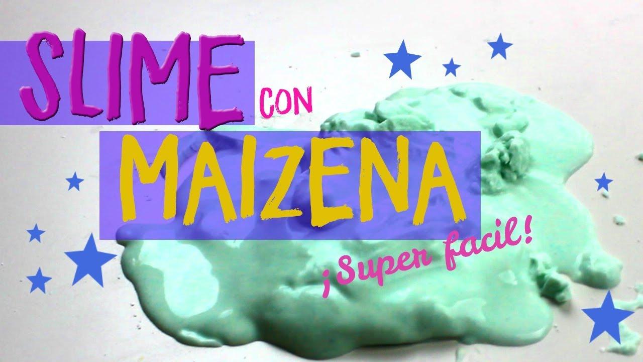 Cómo Hacer Slime Con Maizena Y Sin Borax