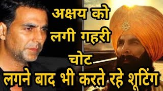 Akshay Kumar injured on Kesari sets,refuses to return to Mumbai,Akshay Kumar