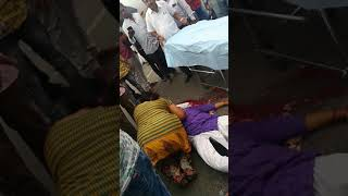 Brutal accident happened in bangalore by ksrtc driver 23/4/2019