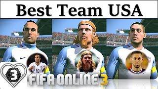 I Love FO3 | Xây Dựng Đội Hình Team Color Đội Tuyển Mỹ | A. Lalas WL & L. Donovan WL Và Đồng Bọn