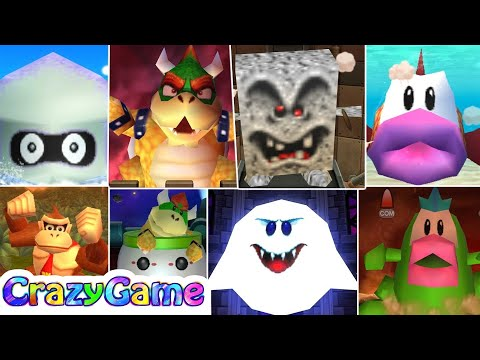 New Mario Party 9 - All New Boss Battles Gameplay (Master CPU)