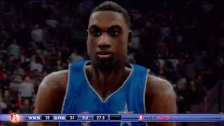 NBA 2K7 Gameplay: West vs East pt. 1 (All Star Game)