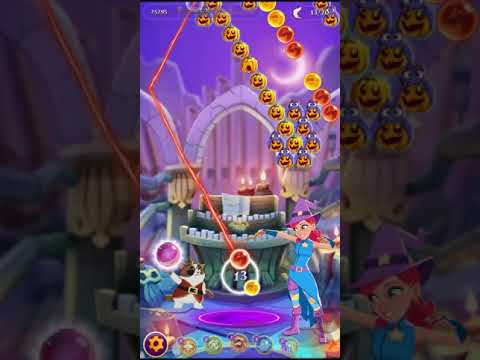 Bubble Witch 3 Saga Level 1166 ~ No Boosters