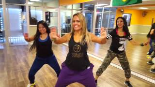 tic tic tac zumba brasil coreografia by raquel call at dfit house 2016