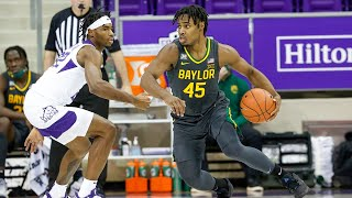 Jared butler's 28 points lifts no. 2 baylor over tcu by a score of 67-49.