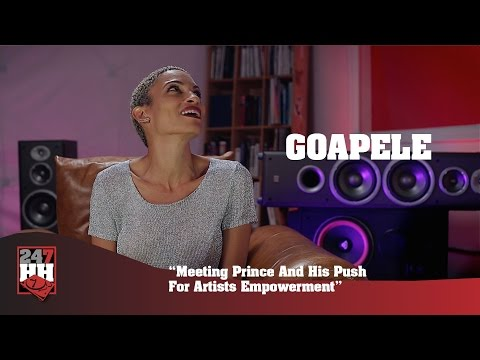 Goapele - Meeting Prince And His Push For Artists Empowerment (247HH Exclusive)