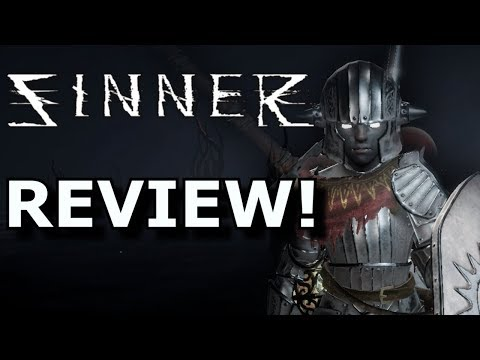 Sinner: Sacrifice for Redemption Review! FUN Dark Souls Ripoff? Ps4SwitchXb1