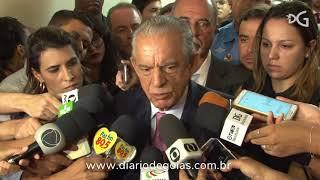 Iris Rezende presta contas a câmara de vereadores de Goiânia