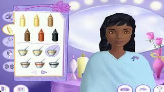 Уровень Новогодняя вечеринка Прохождение игры Барби / Barbie™ Салон красоты