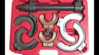 Съемник пружин Макферсон(Съемник пружин Макферсон. Боьше инструмента для ремонта ходовой смотрите здесь http://www.proftool.com.ua/vse-dlya-sto/specinstru..., 2015-08-31T22:04:27.000Z)