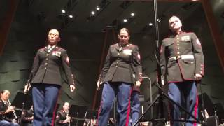 Stars and Stripes forever parris island marine band