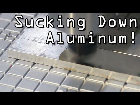 CNC Vacuum Plate Fixture!  Widget89