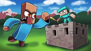 Minecraft | GIANT MUTANT VILLAGER BASE CHALLENGE! (Base vs Villager.EXE)