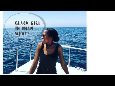 BLACK Girl In Oman