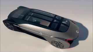 Renault EZ ULTIMO Previews   Premium Autonomous Mobility - Broom car