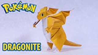 POKEMON GO - Origami Dragonite Tutorial (Henry Phạm)