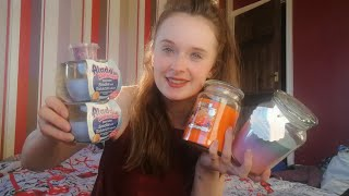HOME BARGAINS CANDLE HAUL | HALLOWEEN & CHRISTMAS THEMED