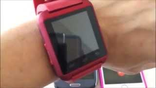 smartwatch U8  iOS vs Android