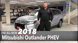 The All New 2018 Mitsubishi Outlander PHEV   Hybrid Electric   White Bear Lake, St Paul, Mpls, MN