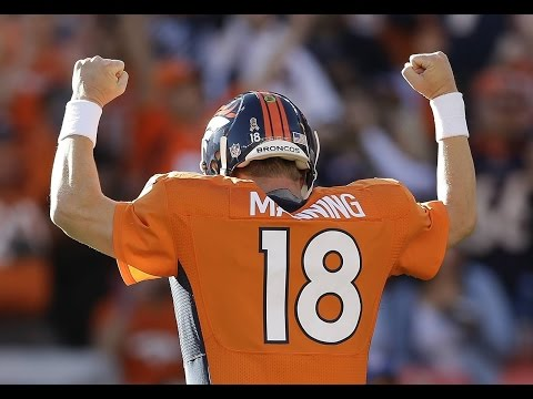 "Peyton Manning Denver Broncos Career Highlights ""Thank you Peyton"" HD"