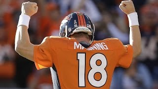 Peyton Manning Denver Broncos Career Highlights