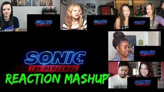 Sonic The Hedgehog Trailer 2 Reaction Mashup | Girls reaction Mashup