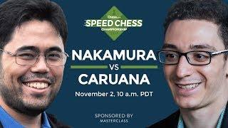 Speed Chess Championship: Hikaru Nakamura Vs Fabiano Caruana