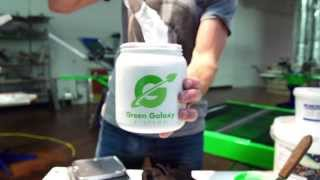 How to Screen Print on Polyester Fabrics with Low Cure Plastisol Screen Printing Ink