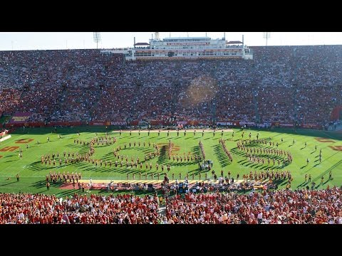 USC Trojan Marching Band Salutes Louis Zamperini