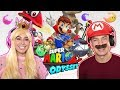 Super Mario & Princess Peach Play Super Mario Odyssey!