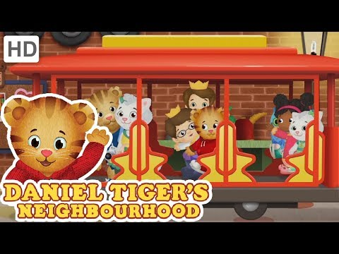 Daniel Tiger 🚒 Red Trucks, Bikes and Trolleys! | Videos for Kids
