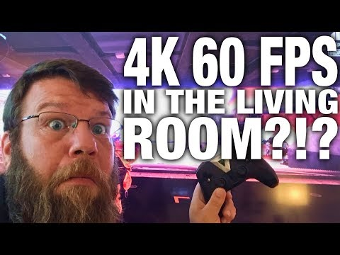4K HDR 60 FPS Gaming In The Living Room! - NVIDIA SHIELD REVIEW - Gamestreaming With Nvidia Shield