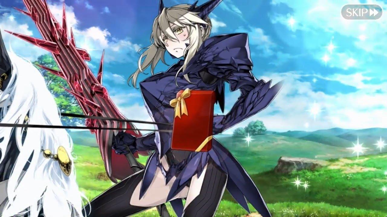 FateGrand Order Valentine With Artoria Lancer Alter